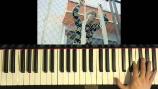 "Video thumbnail of ""HOW TO PLAY - BTS (방탄소년단) -  FIRE (불타오르네) (Piano Tutorial)"""
