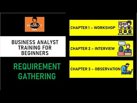 Business Analyst Training For Beginners - [ Requirement Gathering ...
