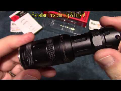 Sunwayman Falcon Series F10R Flashlight Review!