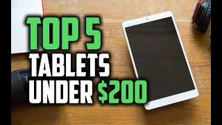 Best Tablets Under $200 in 2018 - Which Is The Best Cheap Tablet? - dooclip.me