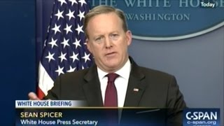 Sean Spicer Says Transgender Rights is A States Rights Issue But Recreational Marijuana Is NOT!