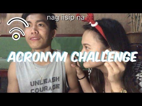 ACRONYM MO 'TO Challenge! | Napaka meaningless! HAHA!
