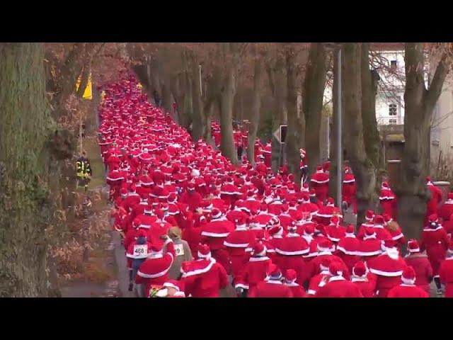 Рождественские забавы в Германии
