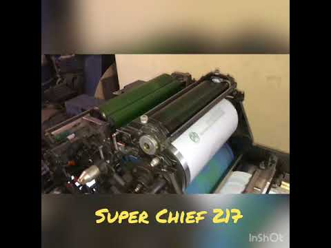 Super Chief 217 maquina offset