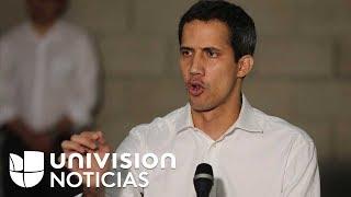 Juan Guaidó, sobre el intento de ingresar ayuda humanitaria a Venezuela