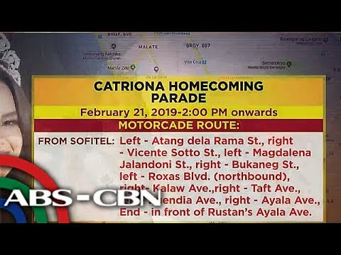 [ABS-CBN]  SILIPIN: Paghahanda sa homecoming parade ni Catriona Gray