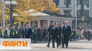 В Риге на торжествах с Зеленским задержали россиян, выдававших себя за журналистов