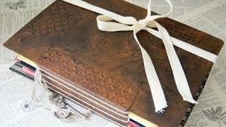 Greeting Card Junk Journal - Memory Book