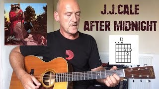 JJ Cale   After Midnight   Guitar Lesson By Joe Murphy