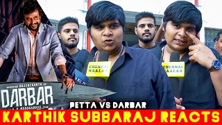 Darbarற விட Petta தான் BEST?!? | Karthik Subbaraj Reply after Watching Darbar Movie!