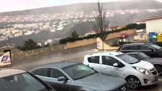 preview picture of video 'Nieve en Benitatxell/Benitachell, Urbanización Cumbre del Sol'