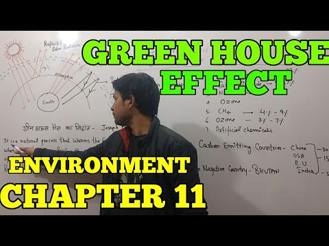 Green House Effect: Environment chapter 11