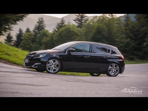 2014 Peugeot 308 115 e-HDI Testfahrt inkl. Touchscreen Navigationscheck