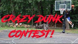 CRAZY BASKETBALL DUNK CONTEST!