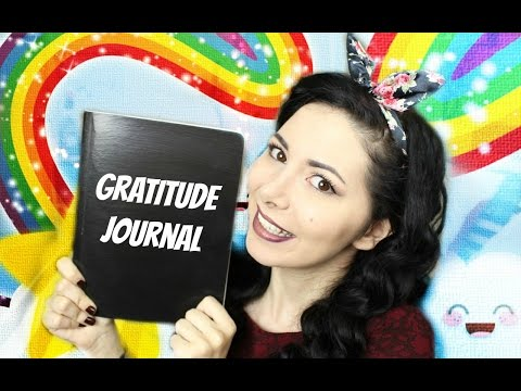 DIY GRATITUDE JOURNAL ❤ HOW TO BE HAPPY #1