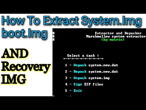 How to convert system img lz4 to system IMG & Unpacking the File