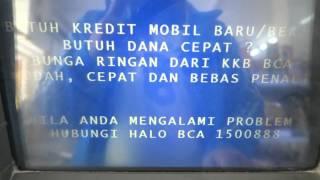 Bayar Pajak Di ATM BCA