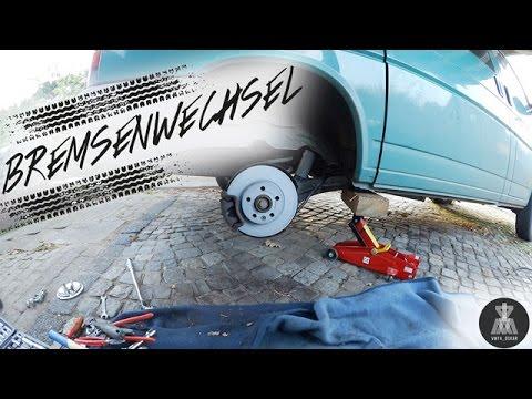 Oskar bekommt neue Bremsen :) | Scheibenbremse tauschen VW T4