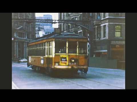 Milwaukee Lines 1957 Part 1 Streetcars And Street Cars! Lol