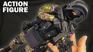 Russian spetsnaz SOBR Lynx MVD 1/6 scale military action figure soldier Спецназ СОБР Рысь - Damtoys
