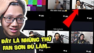 TRÍ TUỆ FAN SƠN ĐÙ CHỈ ĐỂ CHO NHỮNG THỨ NÀY SAO... - Thứ 7 Cùng Sơn Đù (Sơn Đù Vlog Reaction)
