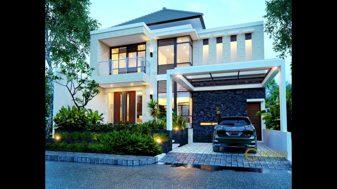 Video 3D Desain Rumah Modern 2 Lantai Bapak Ivan di Manado