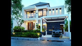 Video Mr. Ivan Modern House 2 Floors Design - Manado