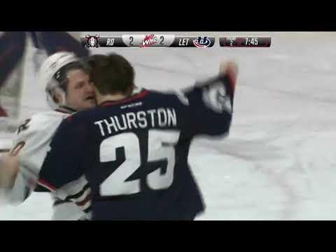 Trevor Thurston vs. Cameron Hausinger