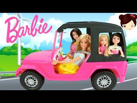 El Auto de Barbie - Juguetes de Barbie - Los Juguetes de Titi