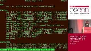 IntroductiontoAdvancedBashUsage-JamesPannacciulli@OSCON2014