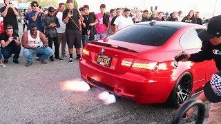 CRAZIEST CAR MEET EVER!!!! (2-STEP REV BATTLE)