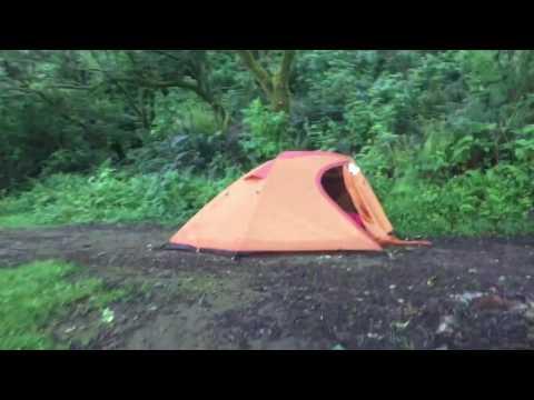 Video tour of our campsite at Flint Ridge