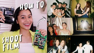 HOW TO SHOOT FILM! 📸 PERFECT FOR BEGINNERS!! | ThatsBella