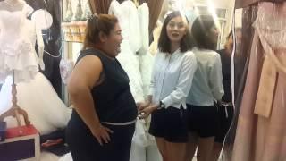 วิธีวัดตัวเจ้าสาวสาวอวบ Part2#Dressy Love TEL:096-3289829พอลล่าLine ID: Dressy-plussize