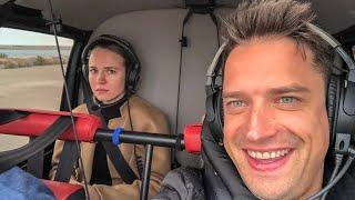 Самый Страшный Полет на Вертолёте для Насти в Барселоне