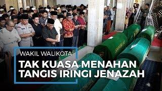 Wakil Wali Kota Depok Pradi Tak Kuasa Tahan Tangis Saksikan 7 Jenazah Kecelakaan Bus Subang