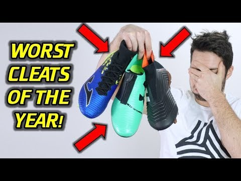 TOP 5 WORST SOCCER CLEATS OF 2017! *DON'T GET TRIGGERED!*