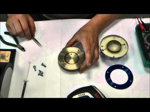Последовательная инструкция по ремонту динамической головки