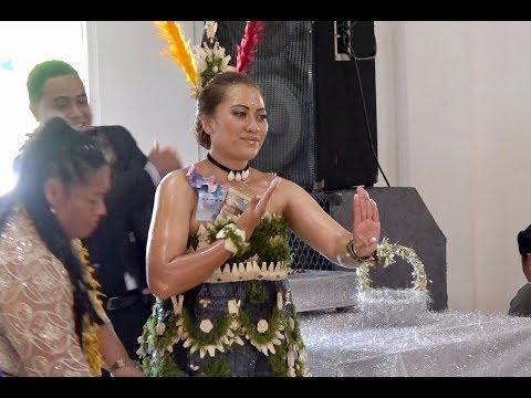 Bride's Dance - Mrs Taufa'ila 'Ufi - Tau'olunga