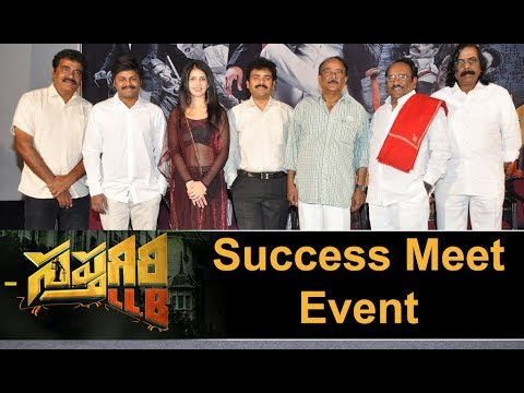 Sapthagiri LLB Movie Team Success Meet