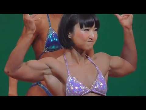 2016年 関東クラス別ボディビル 女子158㎝超級 比較-FP-ポーズダウン