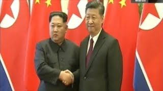 Kim Jong Un Travels To China To Meet With President Xi