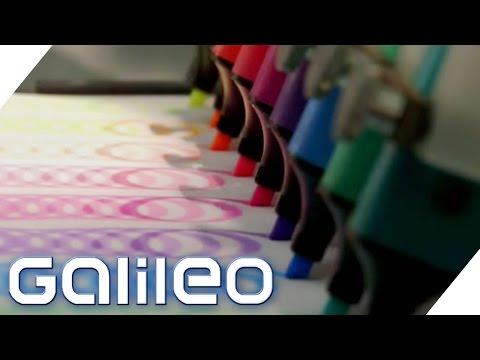 Warum leuchtet der Textmarker? | Galileo Lunch Break