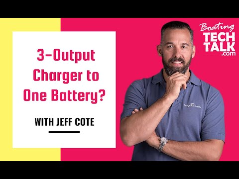 My Battery Charger Has Three Outputs, Can I Connect Them All to One Battery to Charge Faster?