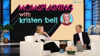 Kristen Bell Previews Season 2 of 'Momsplaining' with a Live Birth!