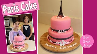 Paris Cake - Eiffel Tower Cake Made By Kids