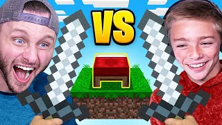 FATHER vs SON BED WARS (Minecraft)