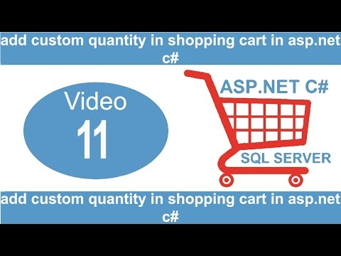 add custom quantity in shopping cart in asp.net c#