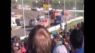 preview picture of video 'Cornwall Motor Speedway - Fireball Enduro 2013'