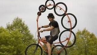 LUCU BANGET......!!!Sepeda unik sedunia.